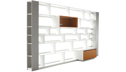 Bookcases and Systems by B&B Italia