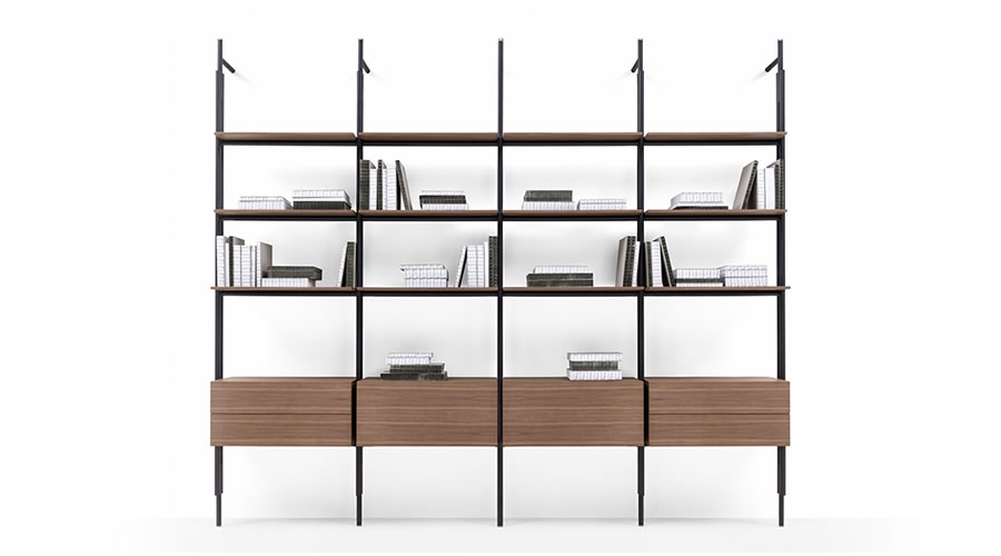 Bookcases and Systems B&B Italia Indoor - B&B Italia Como