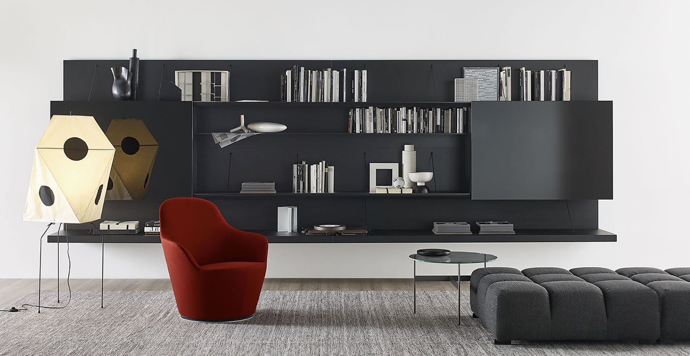 Pab B&B Italia - Bookcases and Systems B&B Italia