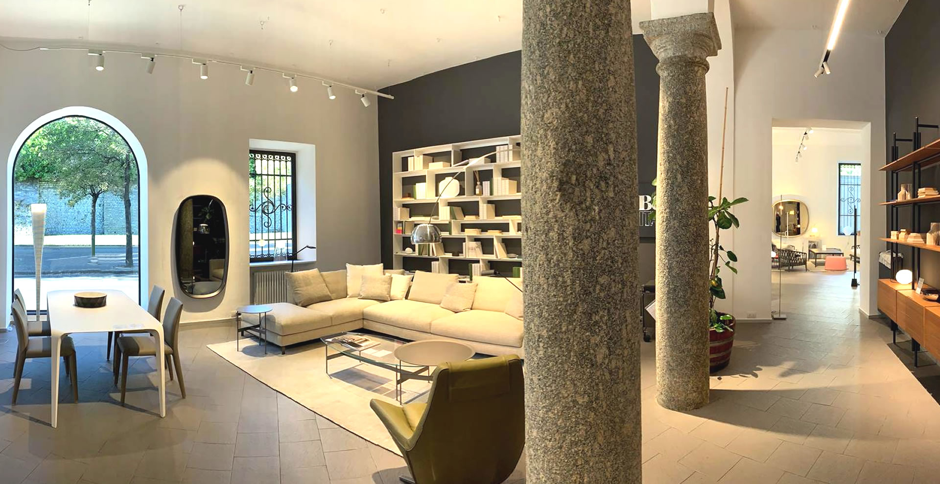 Flagship Store B&B Italia Como - showroom B&B Italia